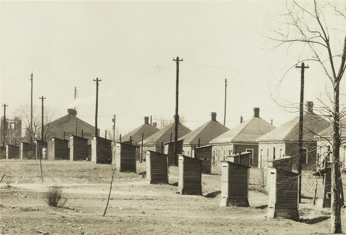 WALKER-EVANS-(1903-1975)-Company-Houses-for-Steel-Mill-Worke