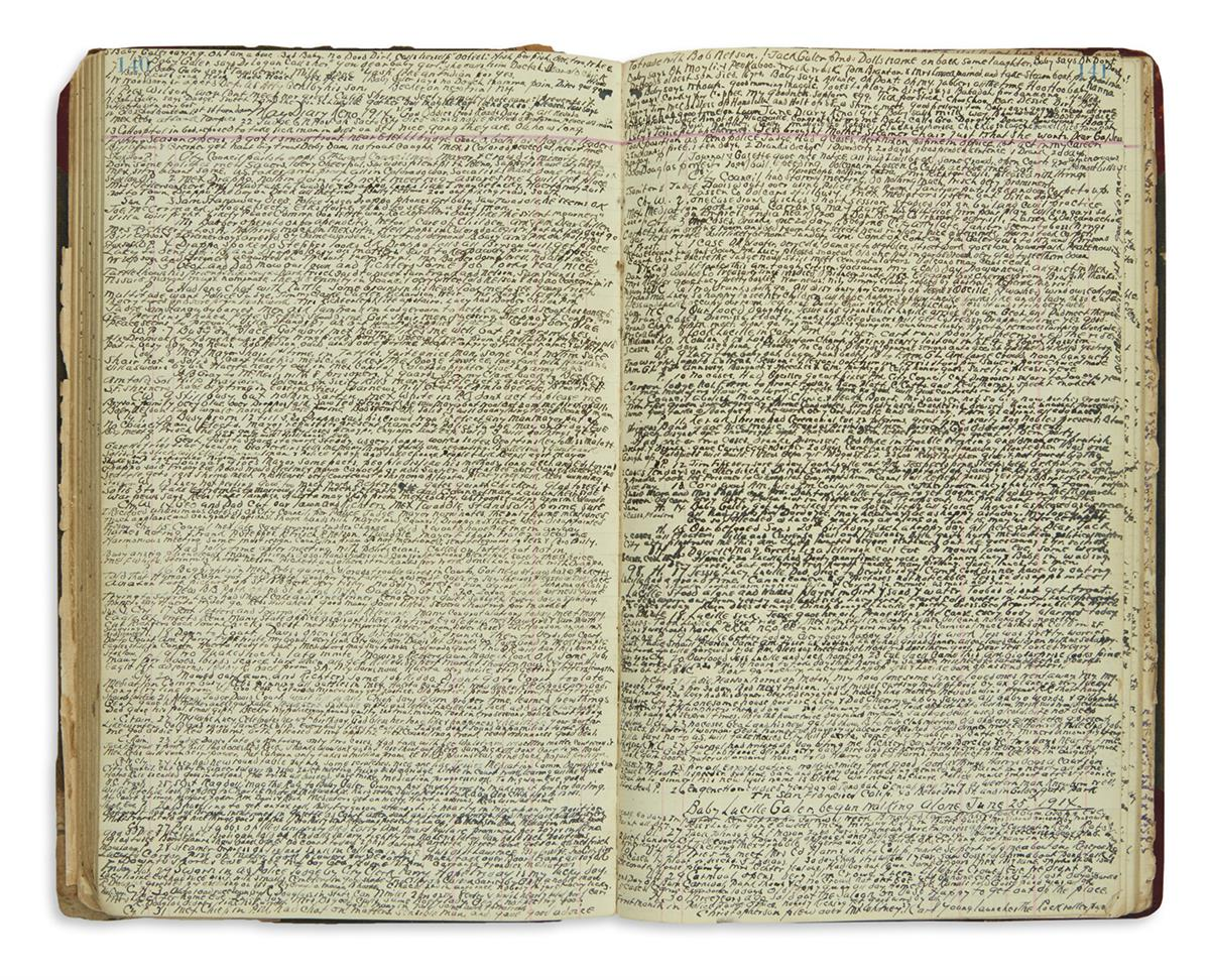 (NEVADA)-Bryson-George-C-Extensive-manuscript-diary-kept-by-
