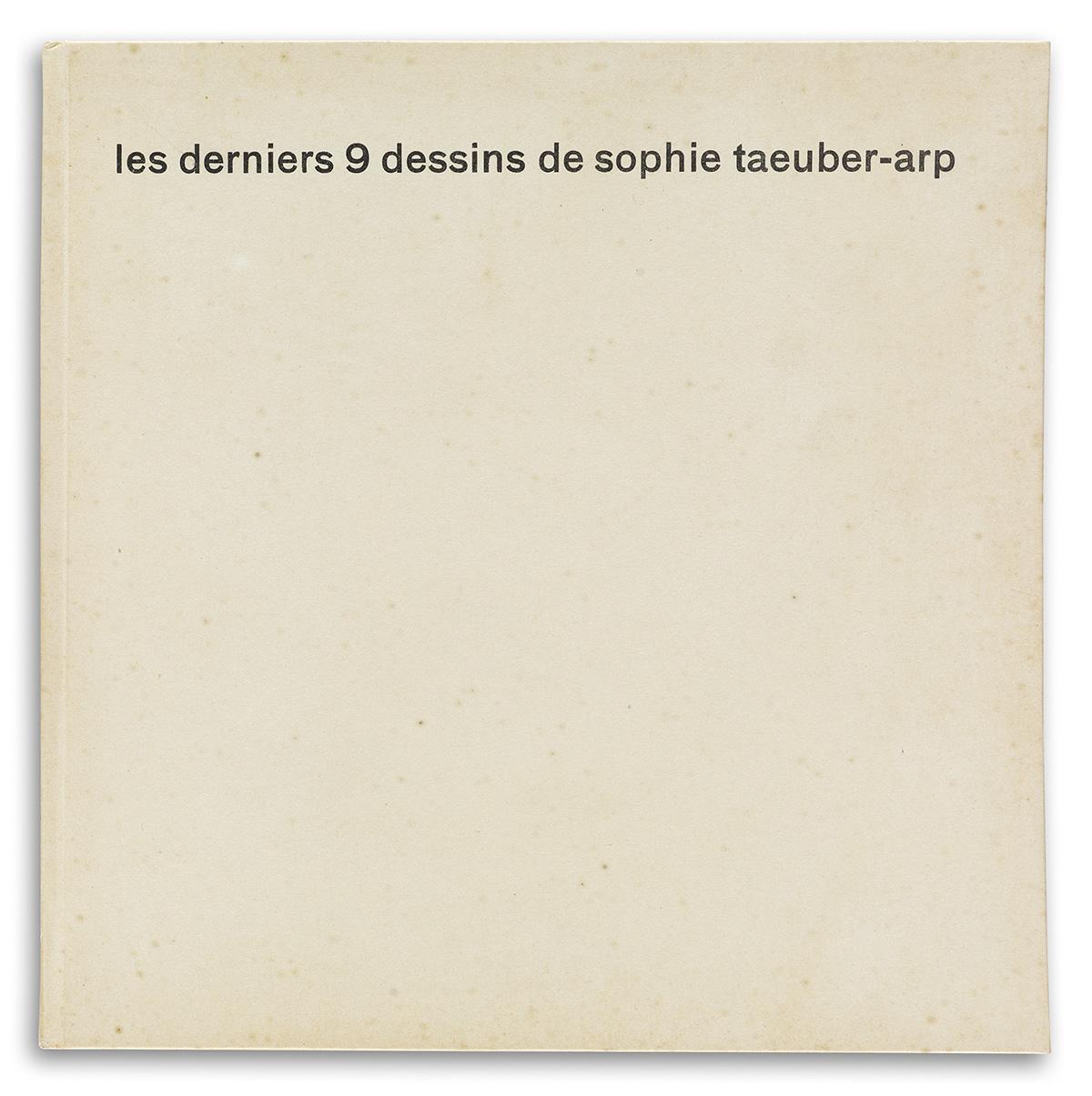 TAEUBER-ARP-SOPHIE-Les-Derniers-9-Dessins-De-Sophie-Taeuber-