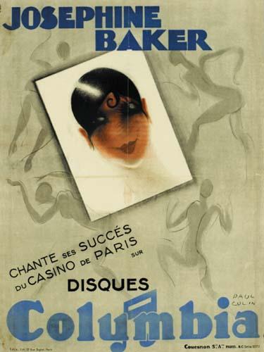 JOSEPHINE-BAKER--COLUMBIA-1932-33-30x22-inches-Edita-Paris