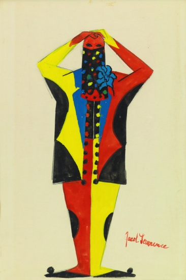 JACOB LAWRENCE (1917 - 2000) Artists and Models Ball, #7.