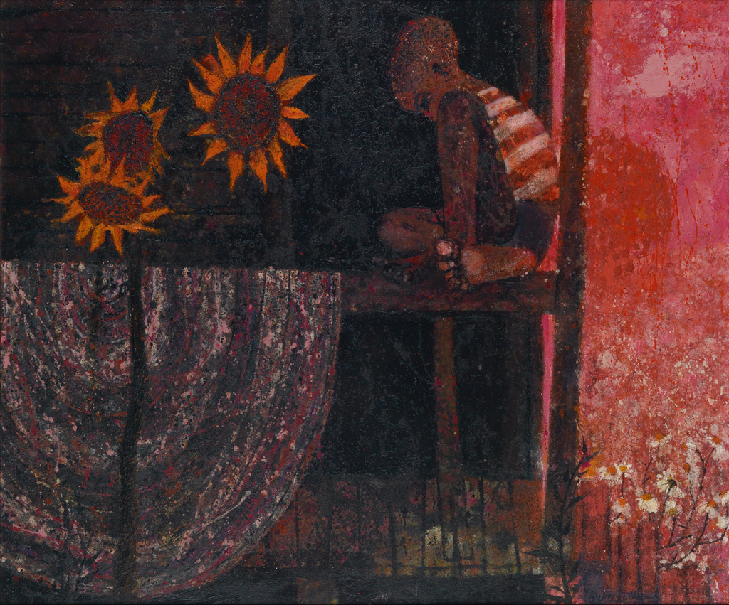 WALTER WILLIAMS (1920 - 1988) Untitled (Boy on a Porch).