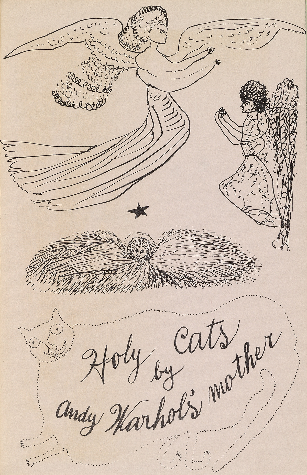ANDY-WARHOL-Holy-Cats-by-Andy-Warhols-Mother