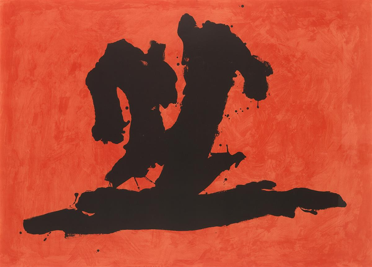 ROBERT MOTHERWELL Wave.