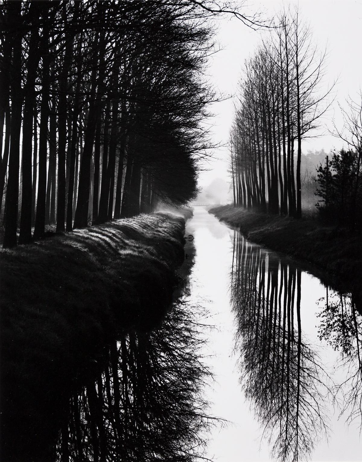 BRETT WESTON (1911-1993) Holland Canal.