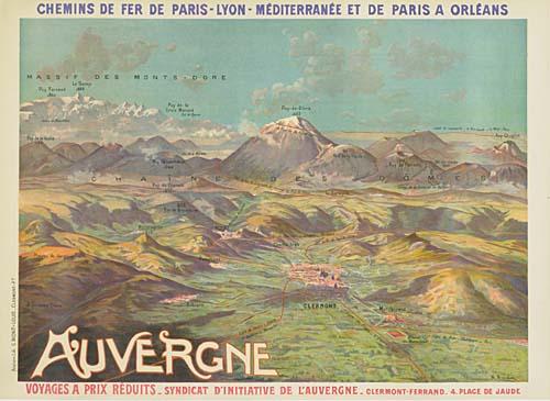 AUVERGNE-30x42-inches-G-Mont-Louis-Cleremont