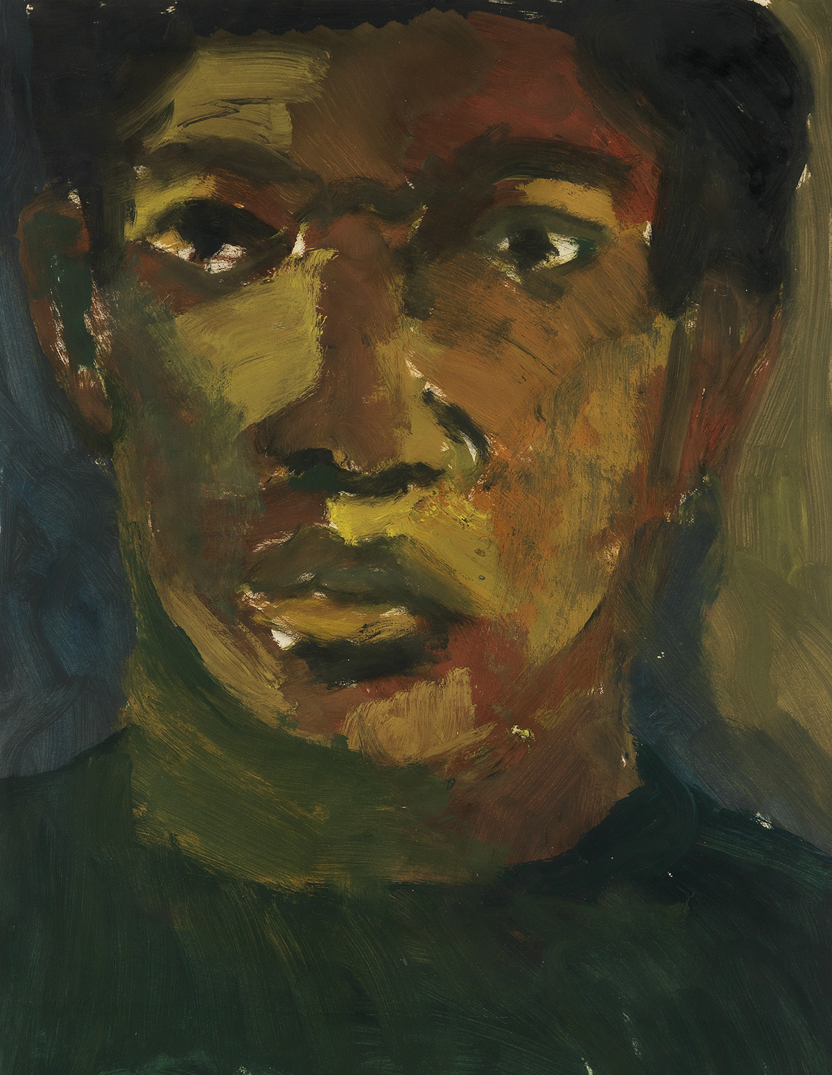 BOB THOMPSON (1937 - 1966) Self Portrait.