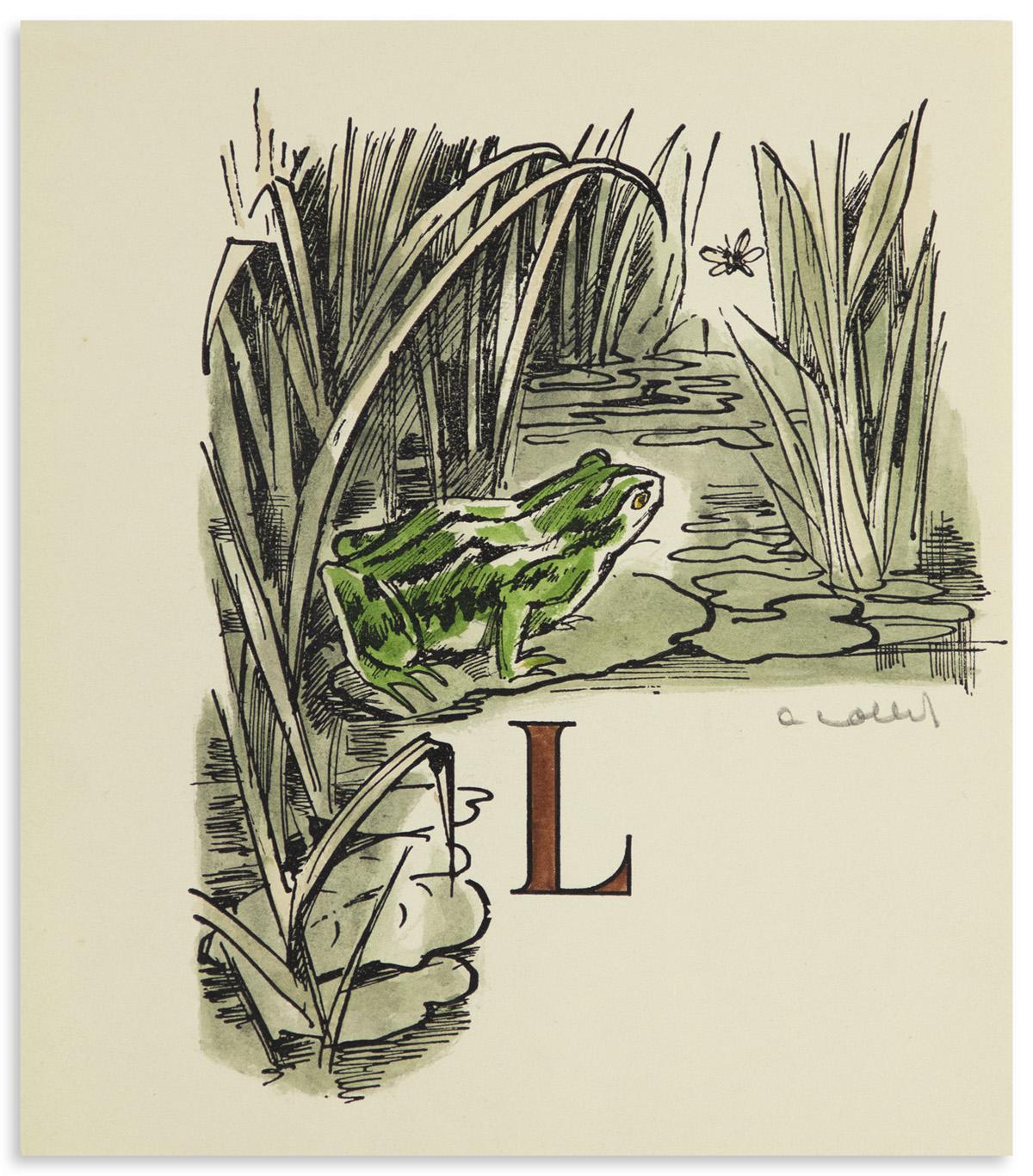 (COLLOT-ANDRÉ--POCHOIR)-Pergaud-Louis-De-Goupil-à-Margot-His