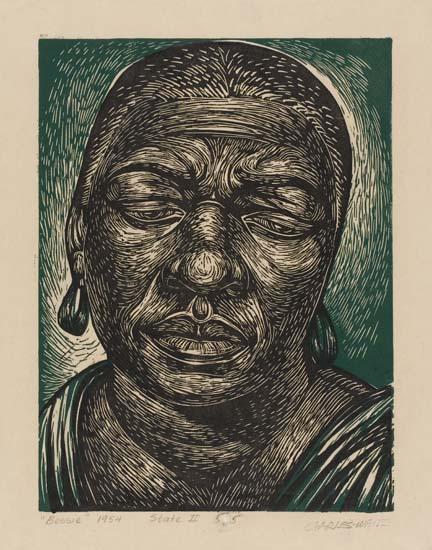 CHARLES WHITE (1918 - 1979) Bessie (Smith).