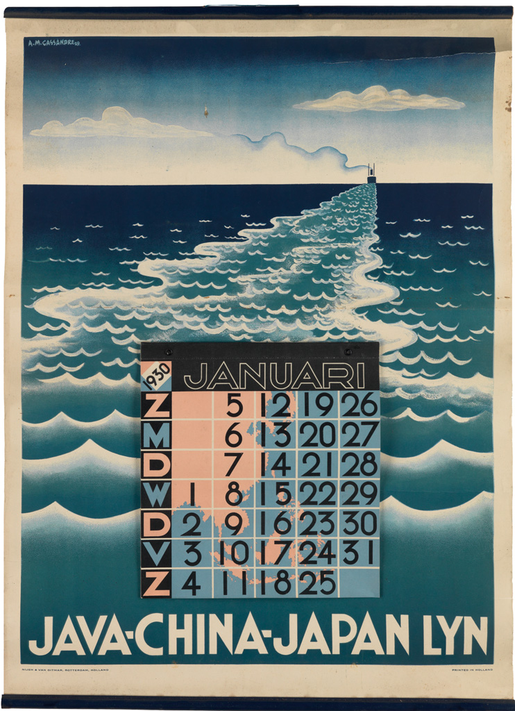 ADOLPHE-MOURON-CASSANDRE-(1901-1968)-JAVA---CHINA---JAPAN-LY