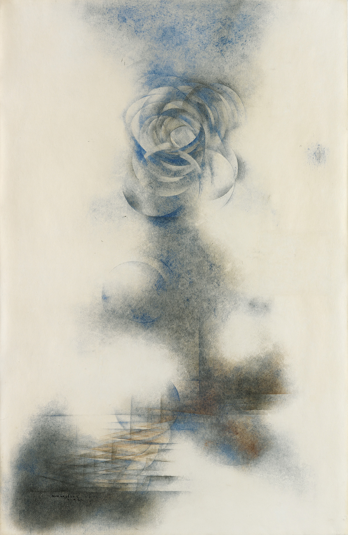 NORMAN-LEWIS-(1909---1979)-Blue-Moon