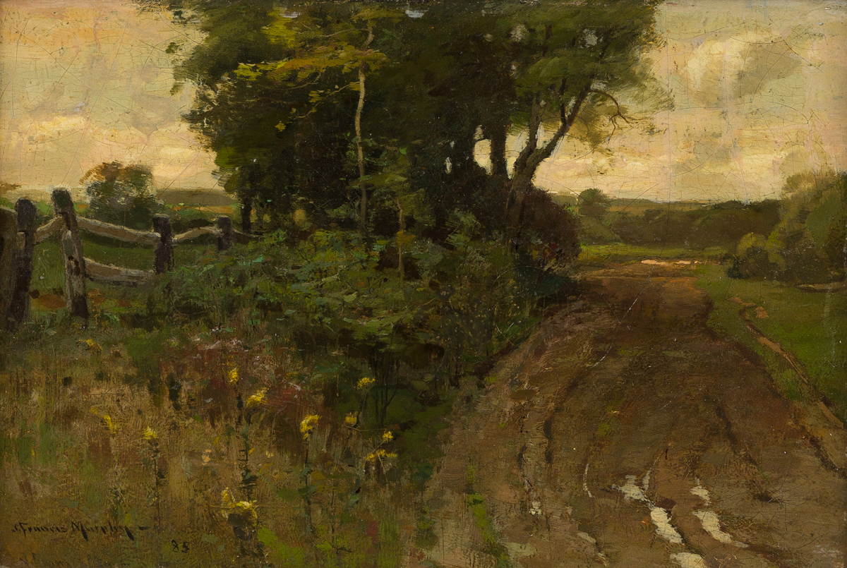 JOHN FRANCIS MURPHY The Country Path.