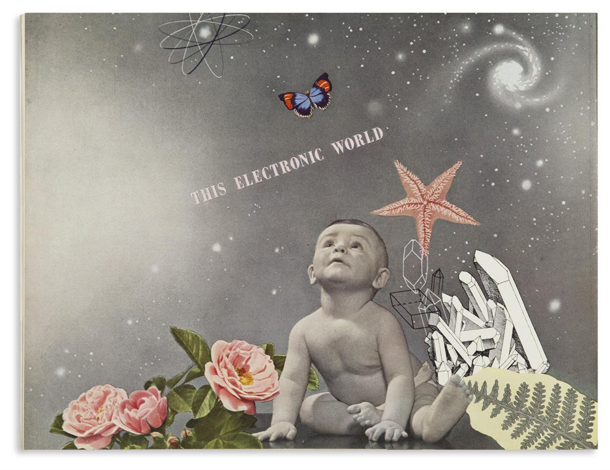 (DESIGN / GRAPHIC DESIGN / BAYER, HERBERT.) Electronics-A New Science for a New World.