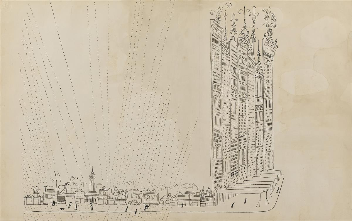 SAUL STEINBERG Chicago The Second City