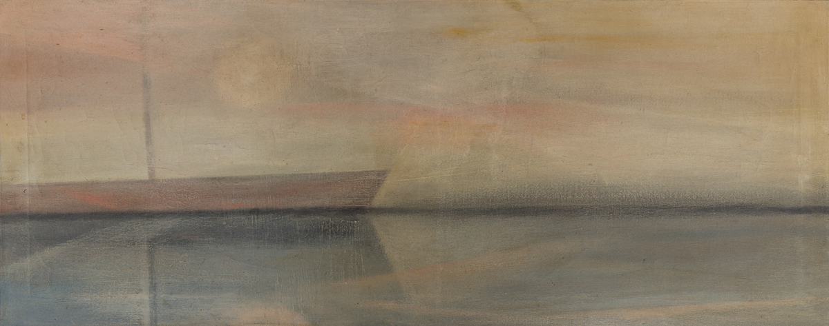 MERTON D. SIMPSON (1928 - 2013) Untitled (Abstract Seascape).