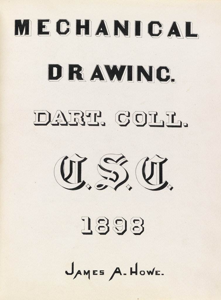 (ARTISTS-MANUAL--DARTMOUTH)-Two-late-19th-century-student-dr