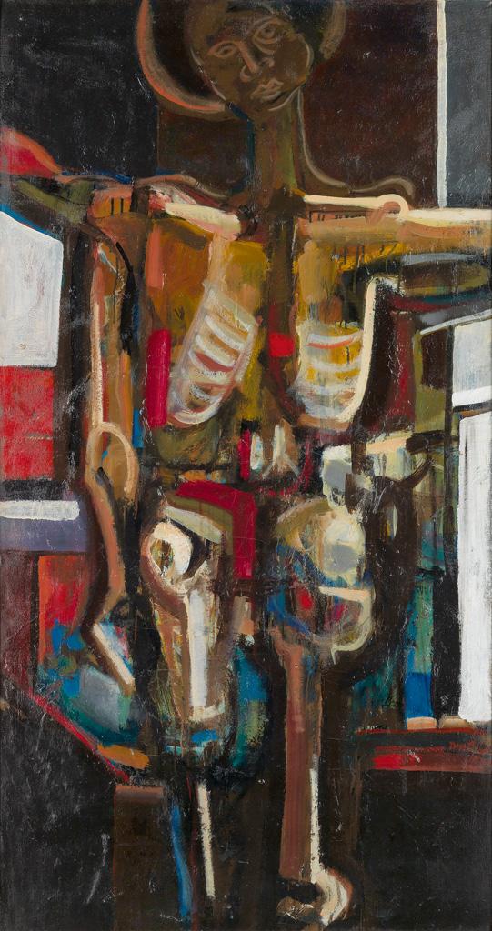 DAVID C. DRISKELL (1931 -   ) Black Crucifixion.