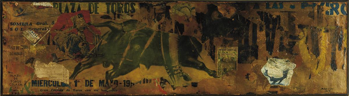SAM-MIDDLETON-(1927---2015)-Untitled-(Mexican-Bullfight)