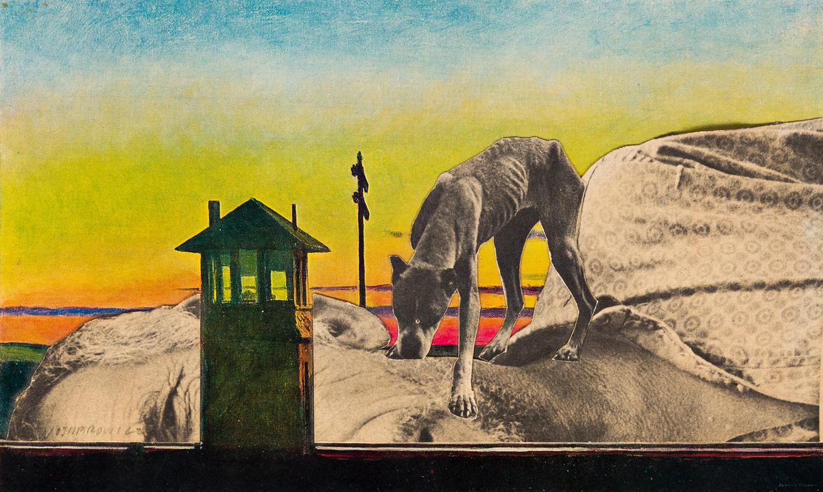 DAVID WOJNAROWICZ (1954-1992) Untitled (Genet with Dog).