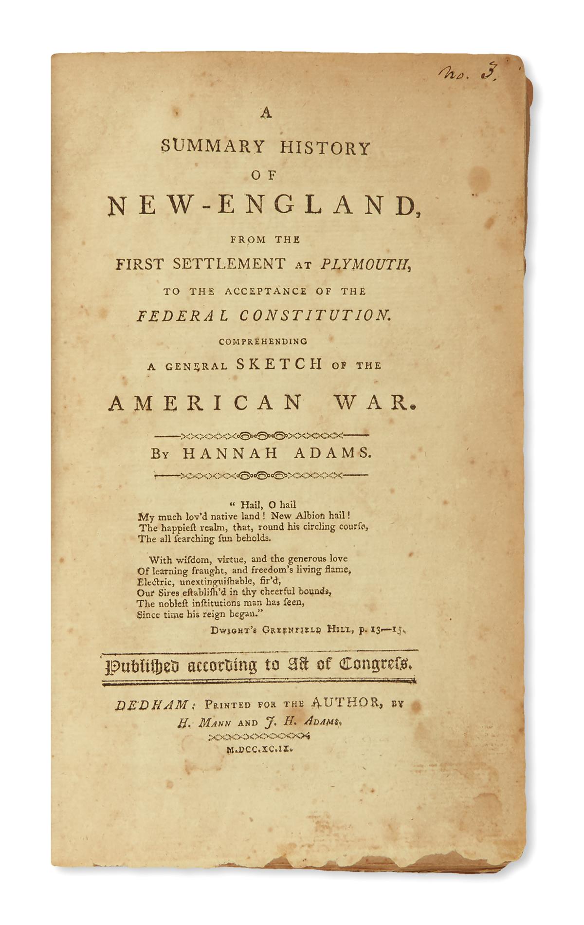 (AMERICAN-REVOLUTION--HISTORY)-Adams-Hannah-A-Summary-Histor