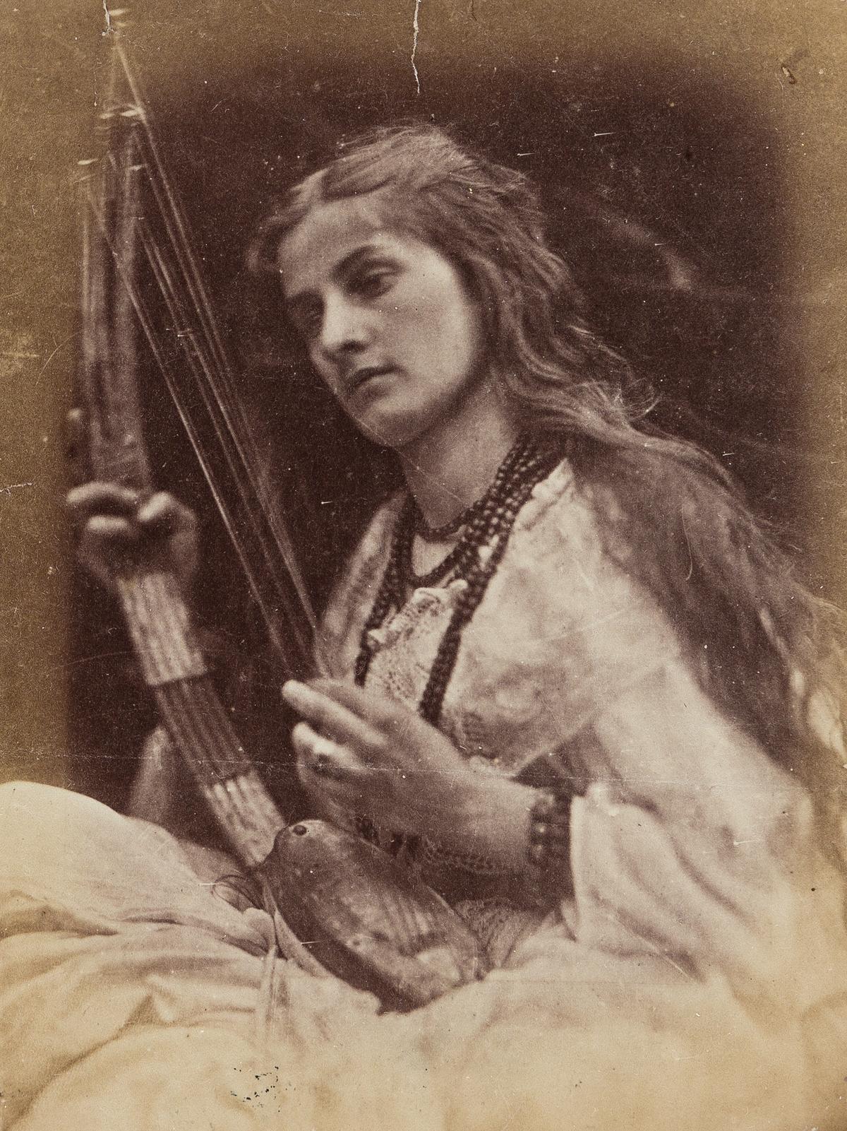 JULIA MARGARET CAMERON (1815-1879) A Study [O hark! O hear!].