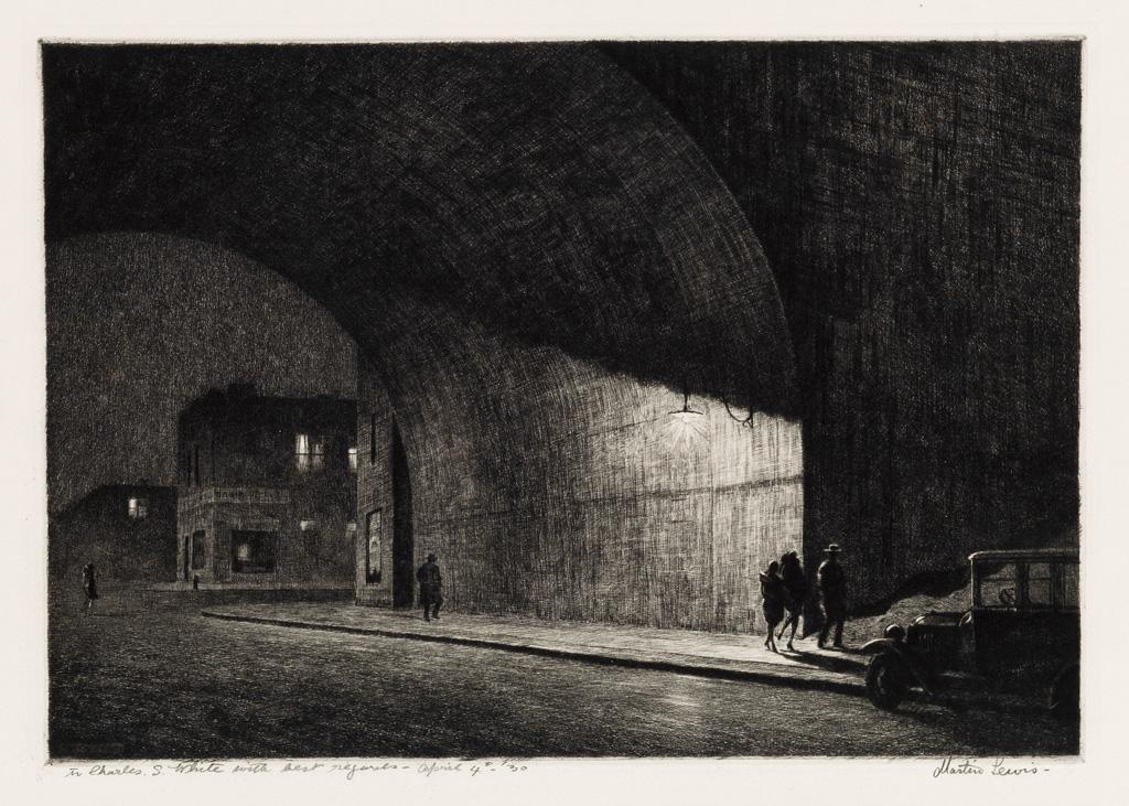 MARTIN-LEWIS-Arch-Midnight
