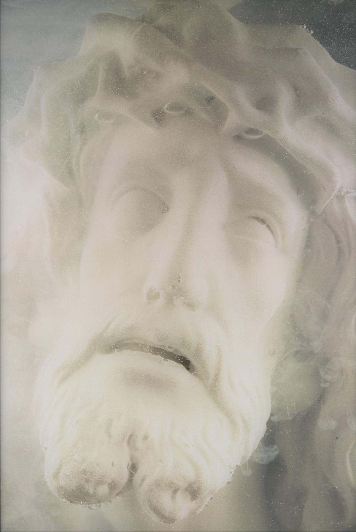 ANDRES SERRANO (1950- ) White Christ.