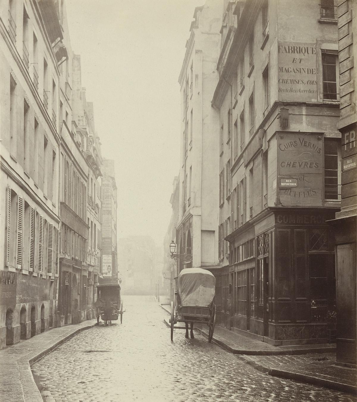 CHARLES-MARVILLE-(1813-1879)-Rue-Mauconseil-Paris