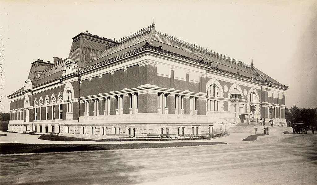 HALL, GEORGE P. & SON Metropolitan Museum of Art (now the American Wing) * Empire Building.