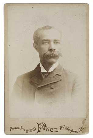 (SLAVERY AND ABOLITION--PHOTOGRAPHY.) LYNCH, JOHN ROY. Cabinet card.