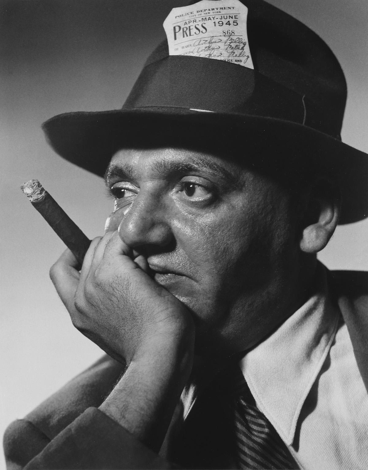 PHILIPPE HALSMAN (1906-1979) Weegee (Arthur Fellig).
