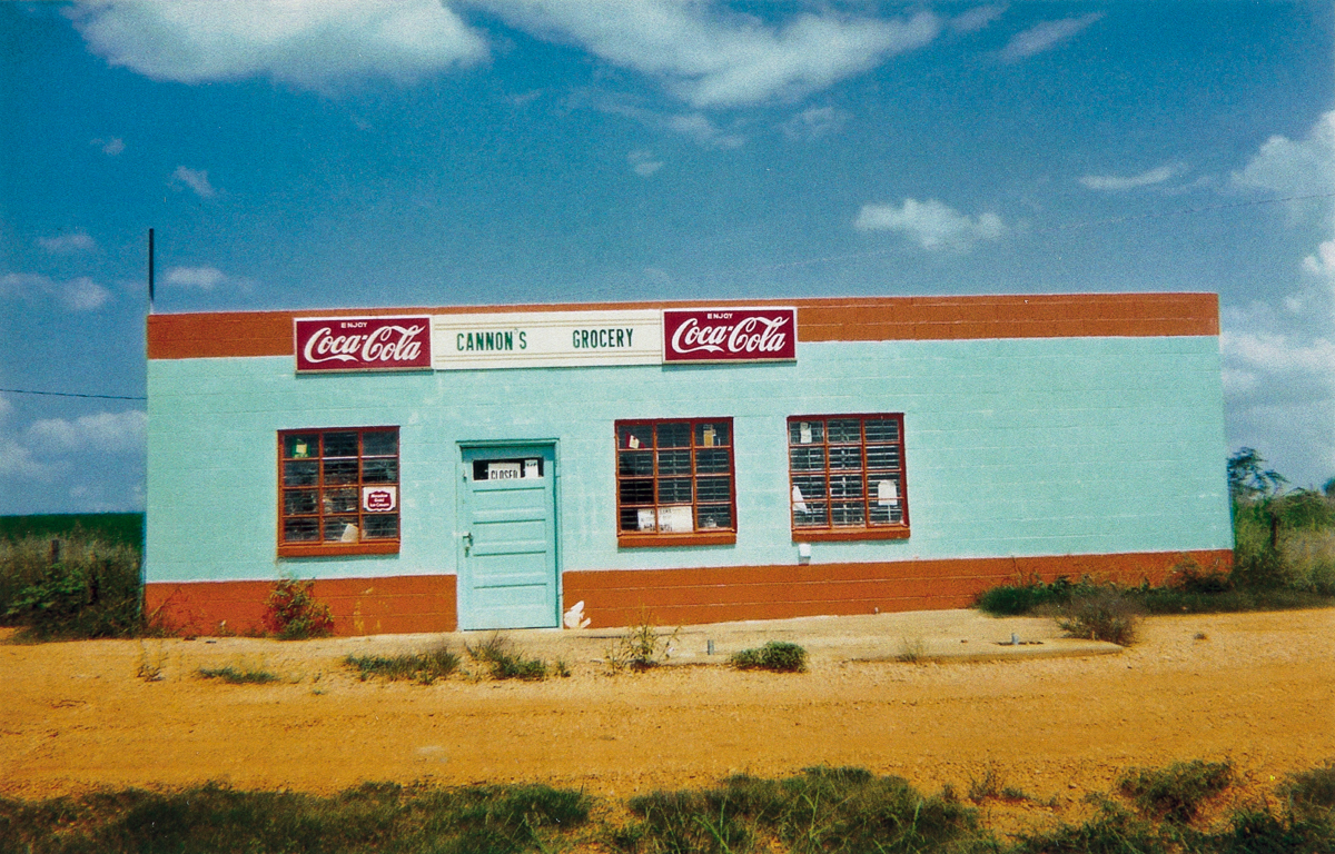 WILLIAM CHRISTENBERRY (1936-2016) A group of three photographs of Alabama storefronts.