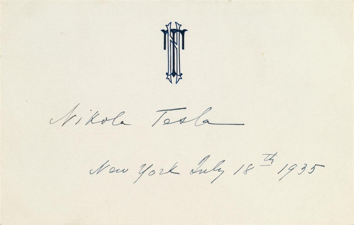 TESLA-NIKOLA-Signature-and-date-on-his-monogrammed-correspon