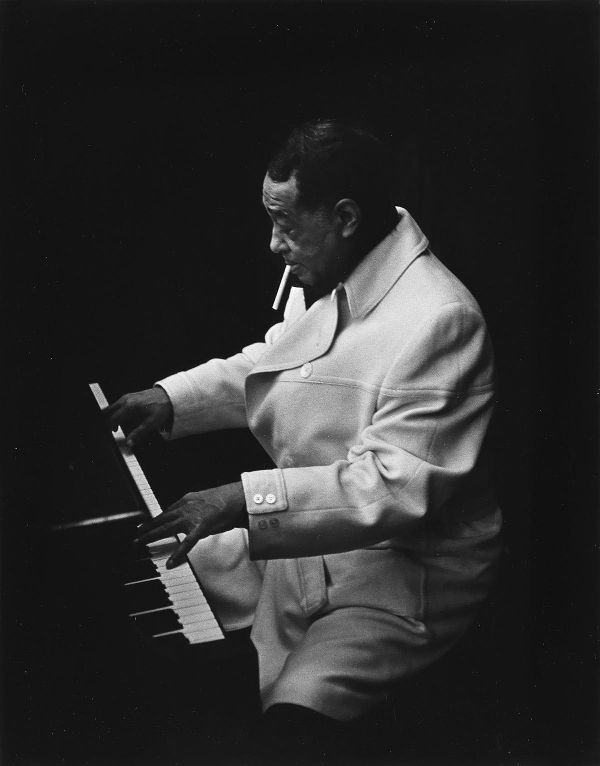 PHILIPPE HALSMAN (1906-1979) Duke Ellington.