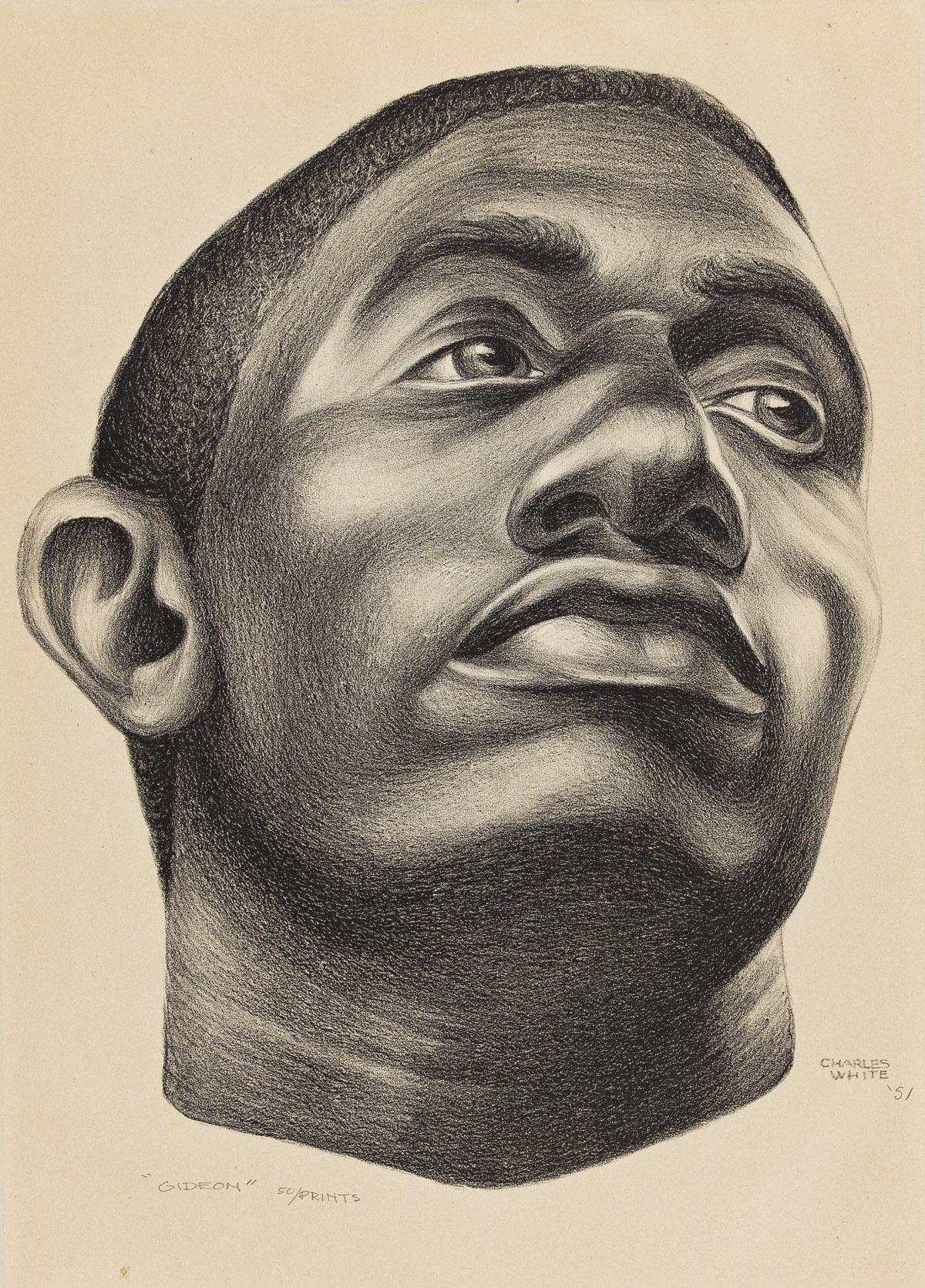 CHARLES WHITE (1918 - 1979) Gideon.