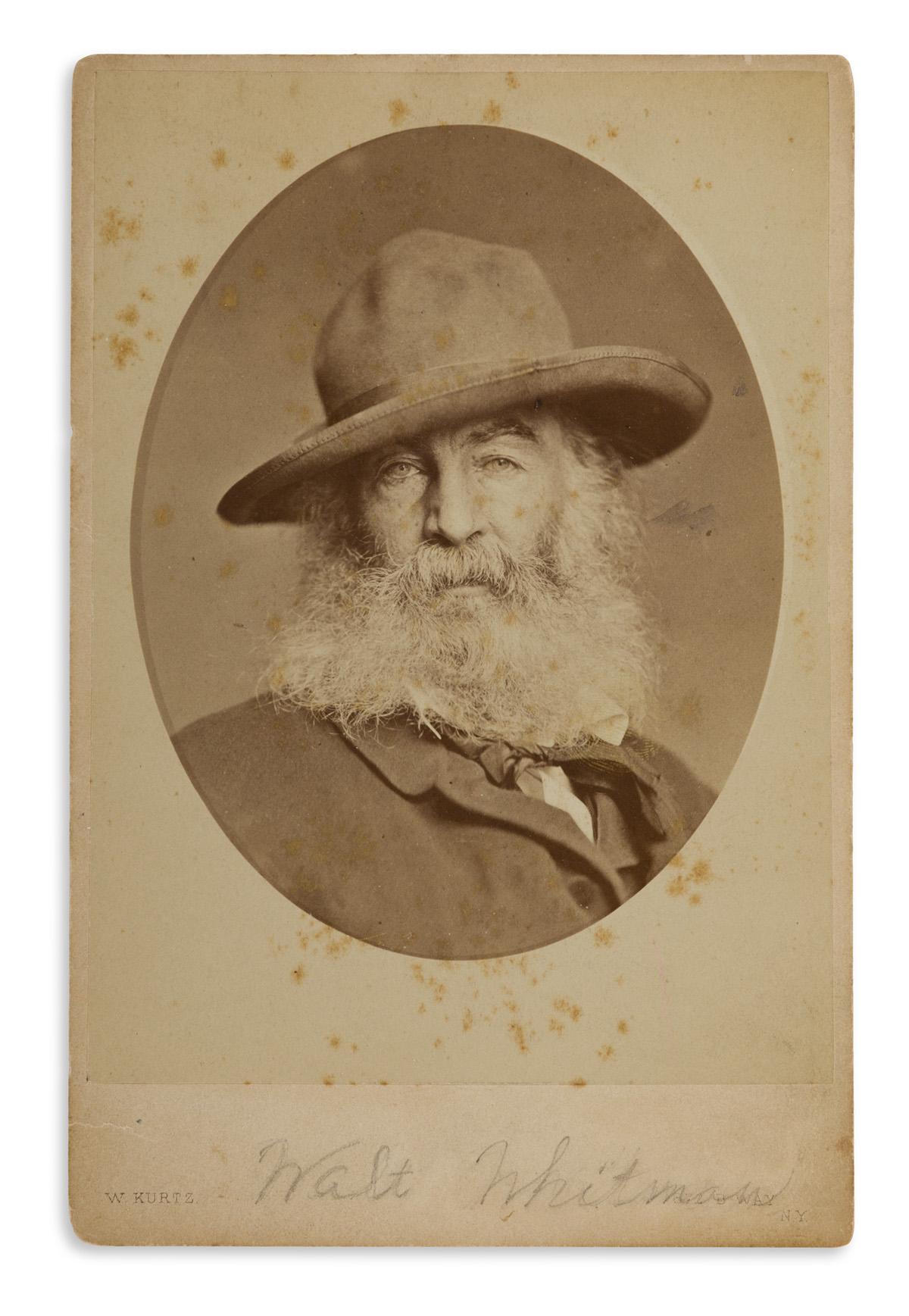WILLIAM-KURTZ-(1833-1904)-Walt-Whitman