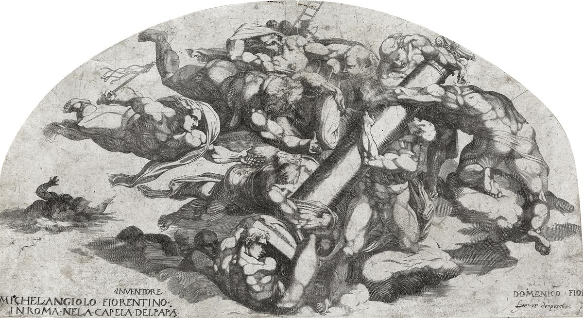 DOMENICO-DEL-BARBIERI-(after-Michelangelo)-Group-from-the-La
