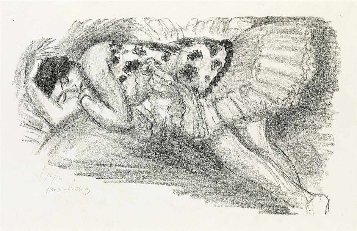HENRI-MATISSE-Danseuse-endormie-au-divan