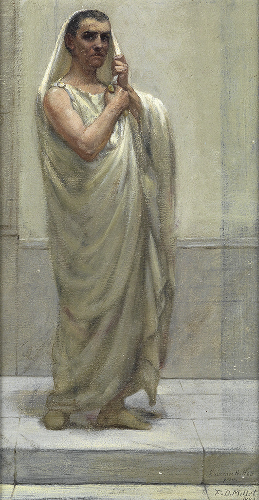 FRANCIS-DAVIS-MILLET-A-Roman-Patrician