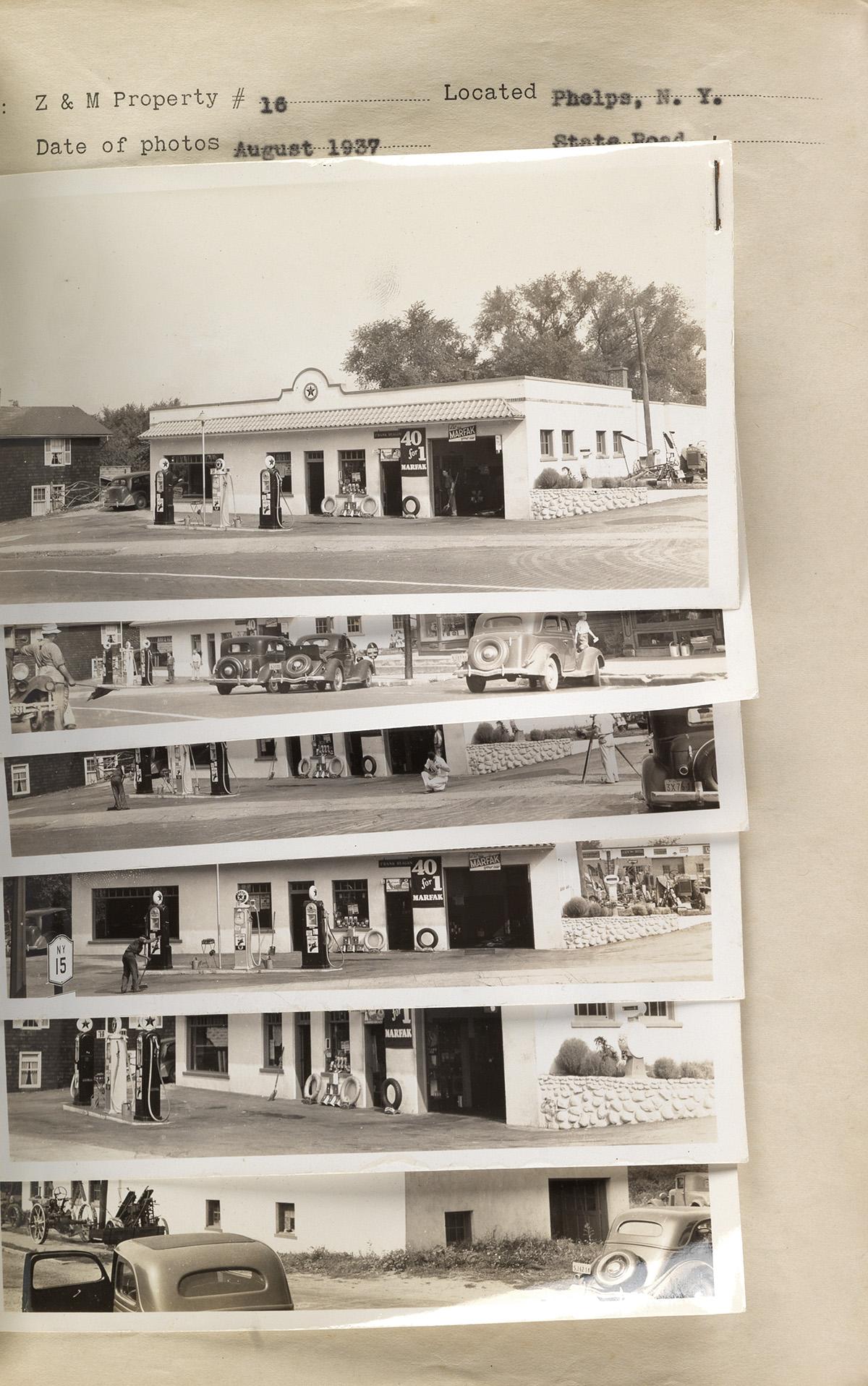 (GAS-STATIONS--TEXACO)-Abum-with-320-photographs-of-Texaco-g