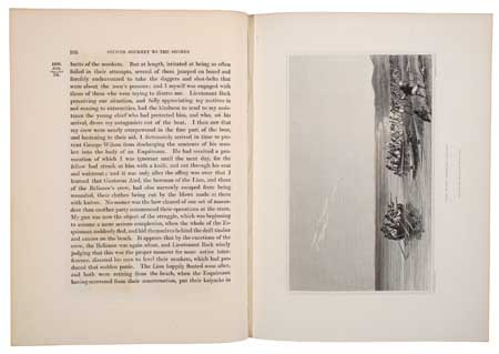 (ARCTIC.) Franklin, John. Narrative of a Second Expedition to the Shores of the Polar Sea, in the Years 1825, 1826, and 1827.