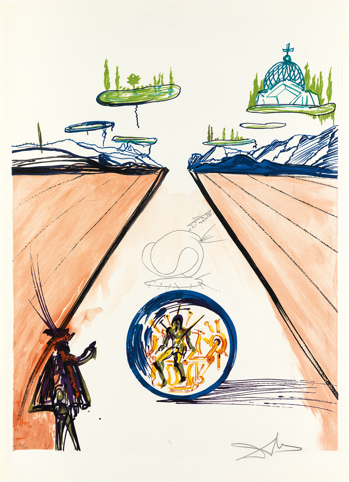SALVADOR DALÍ Imaginations and Objects of the Future.