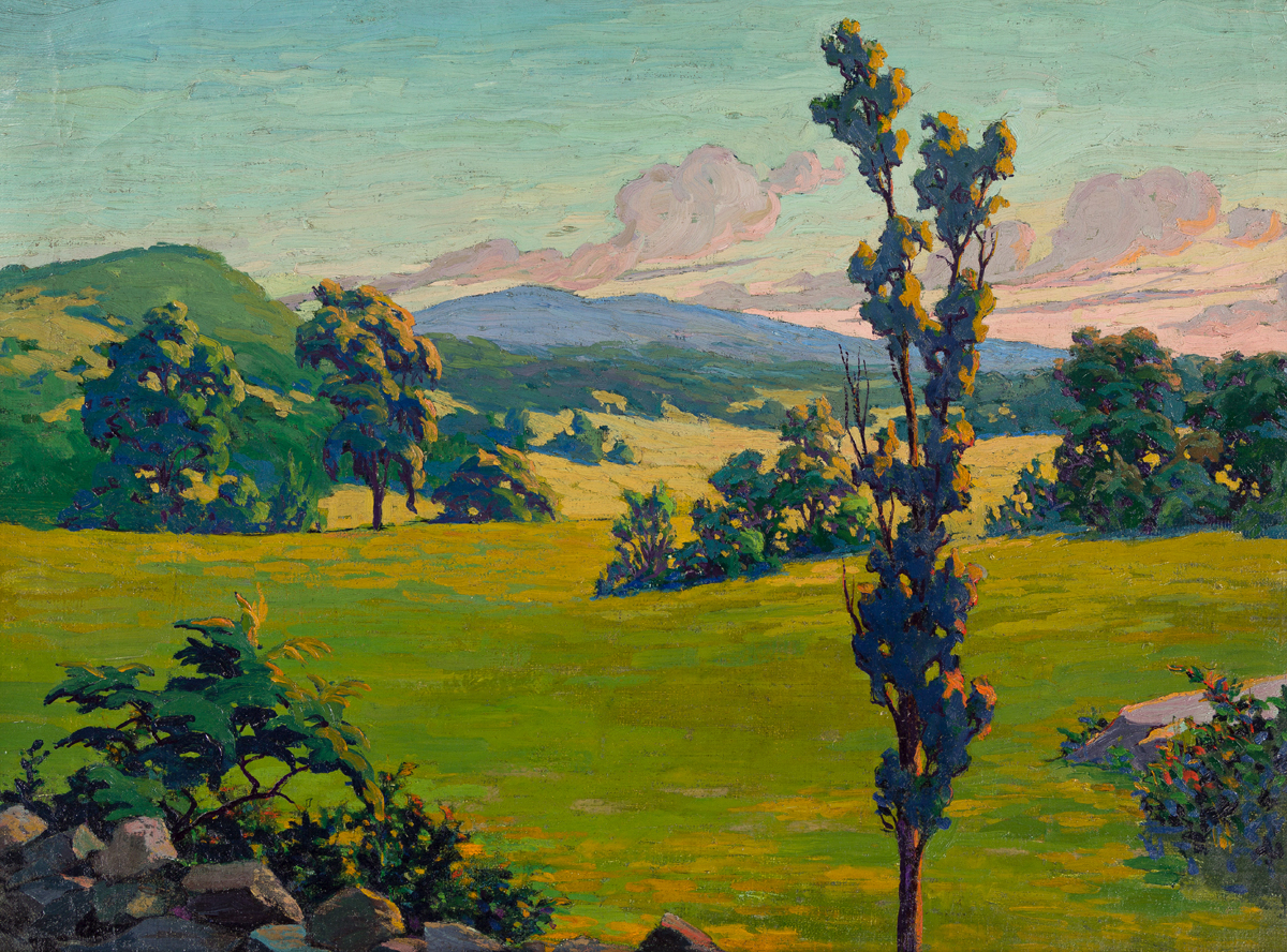 FRANK REED WHITESIDE California Landscape.