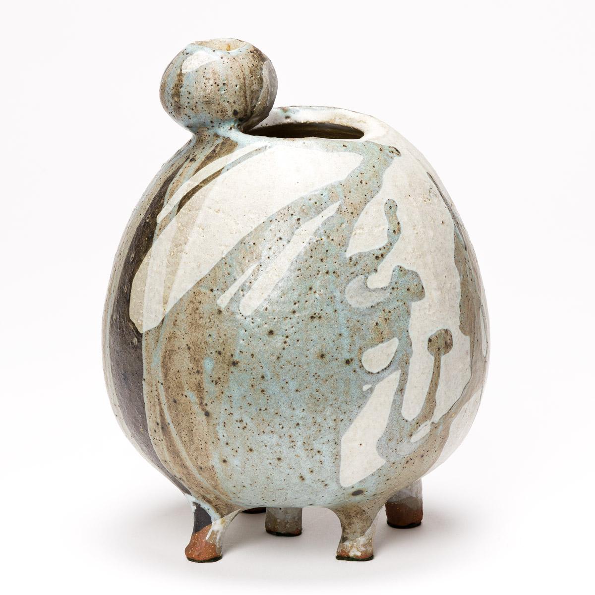 EARL HOOKS (1927 - 2005) Untitled (Five-footed Vase Form).