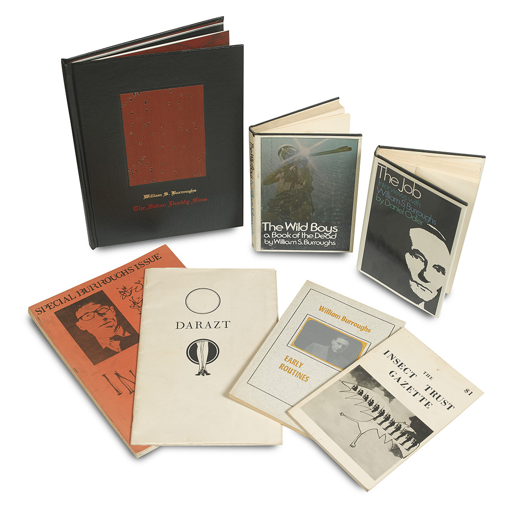 BURROUGHS-WILLIAM-Small-Group-including-Signed-First-Edition