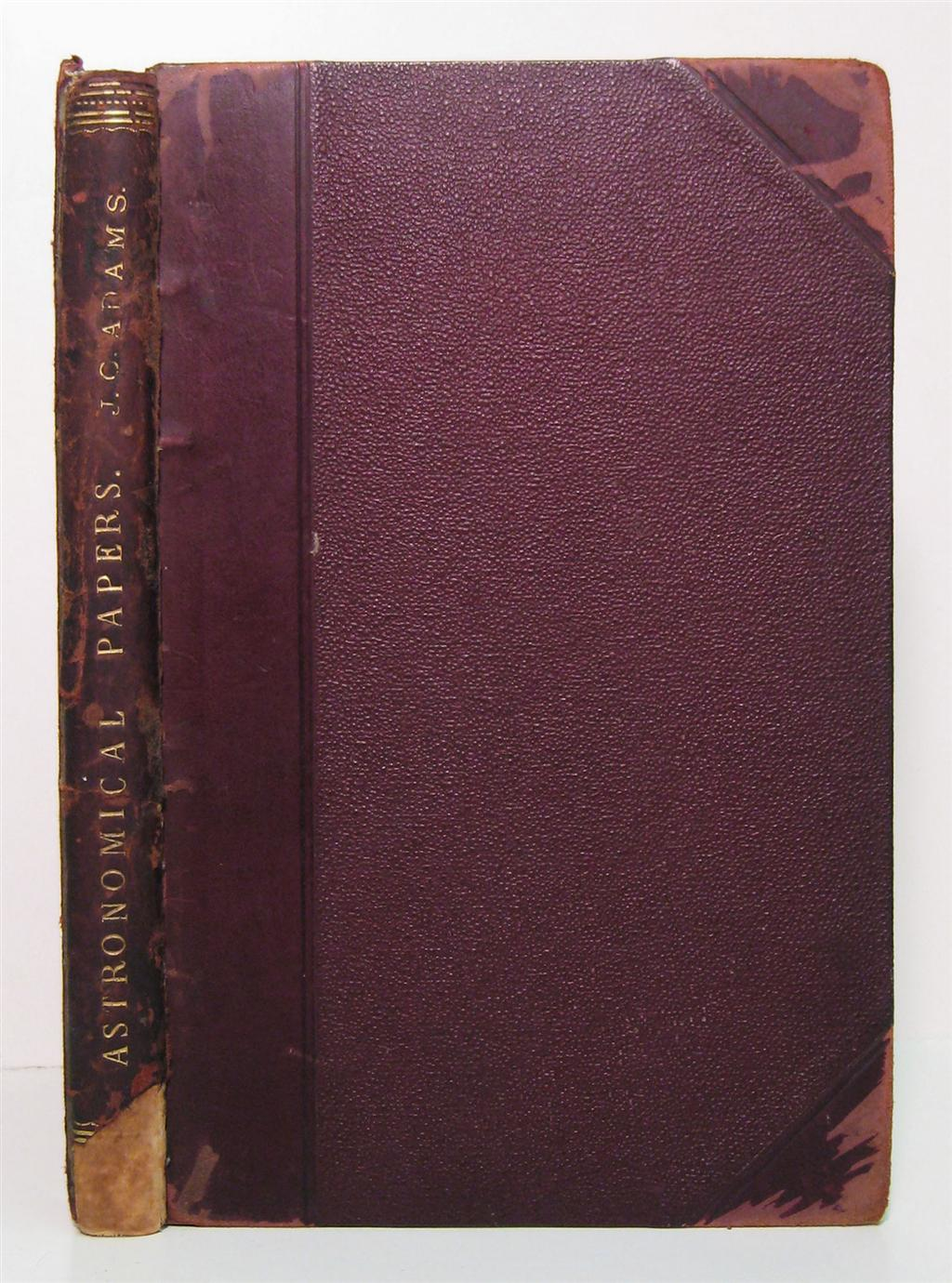 ADAMS-JOHN-COUCH-Bound-volume-containing-17-offprints-or-rep