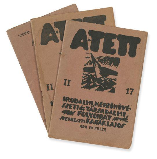 (AVANT-GARDE-HUNGARIAN)-Kassák-Lajos-A-Tett-Issues-12-16-and