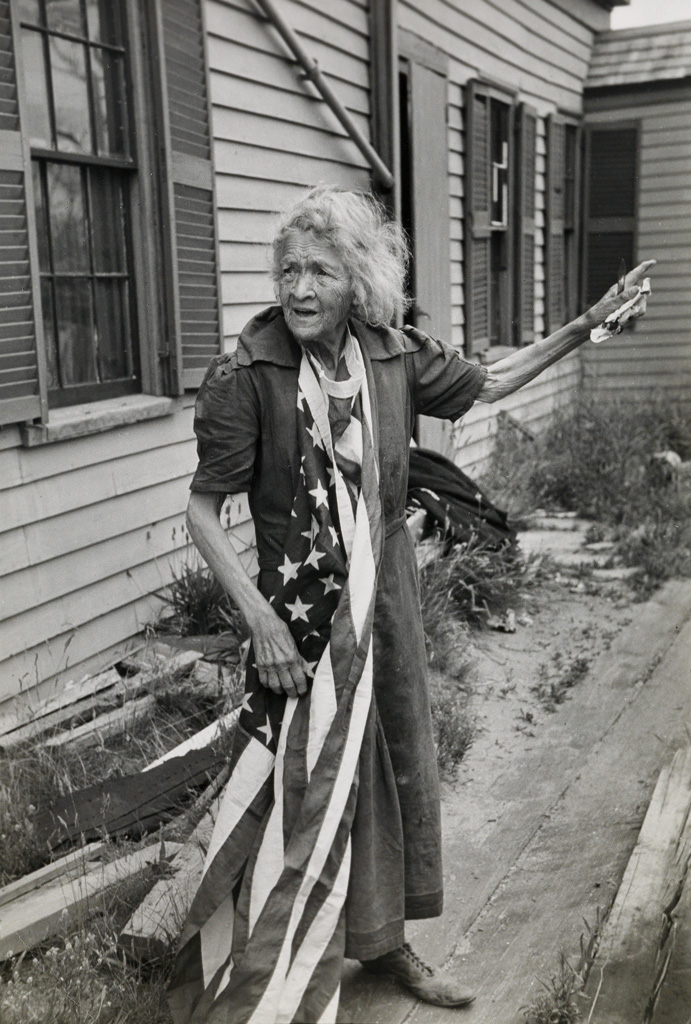 HENRI CARTIER-BRESSON (1908-2004) Cape Cod Woman on the Fourth of July, Massachusetts.