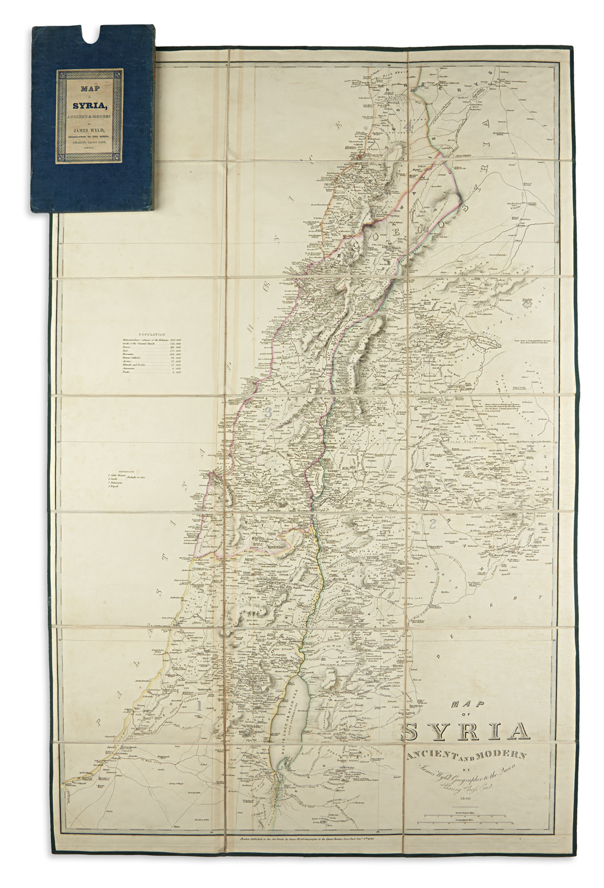 WYLD-JAMES-Map-of-Syria-Ancient-and-Modern