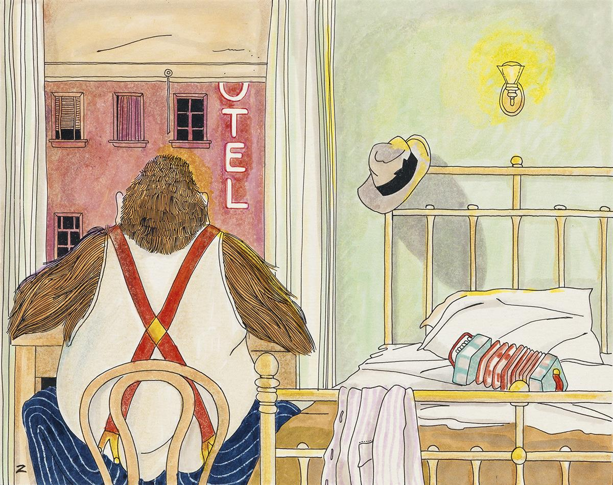 NICKY-ZANN-(PENTHOUSE)-Gorilla-in-Room-301